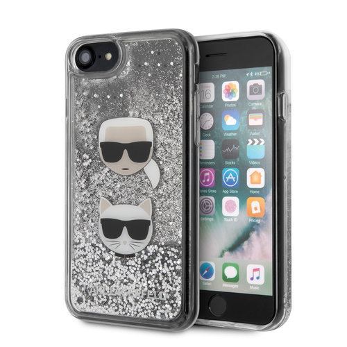 Karl Lagerfeld Karl Lagerfeld iPhone 7-8; iPhone SE2 Print Back cover coque - KLHCI8KCGLSL