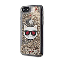 Karl Lagerfeld Karl Lagerfeld iPhone 7-8; iPhone SE2 Print Back cover coque - KLHCI8LCGLGO