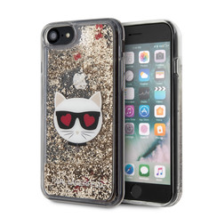 Karl Lagerfeld iPhone 7-8; iPhone SE2 Print Back cover coque - KLHCI8LCGLGO