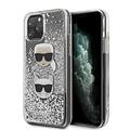 Karl Lagerfeld Karl Lagerfeld Apple iPhone 11 Pro Silver Back cover case - KLHCN58KCGLSL