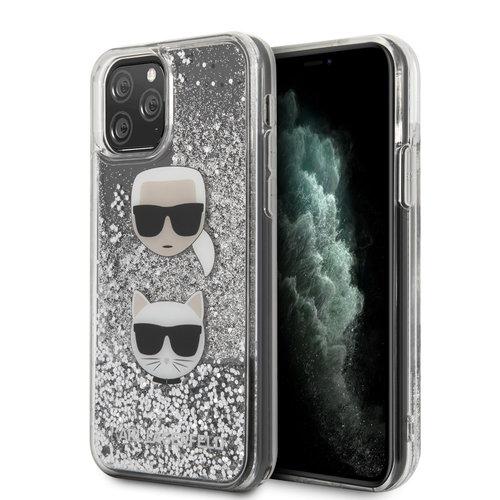 Karl Lagerfeld Karl Lagerfeld iPhone 11 Pro Argent Back cover coque - KLHCN58KCGLSL