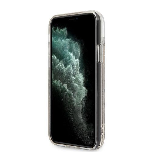 Karl Lagerfeld Karl Lagerfeld Apple iPhone 11 Pro Gold Back cover case - KLHCN58LCGLGO
