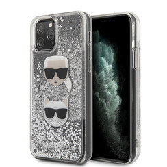 Karl Lagerfeld Apple iPhone 11 Pro Max Silver Back cover case - KLHCN65KCGLSL