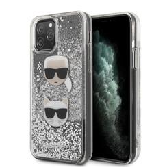 Karl Lagerfeld iPhone 11 Pro Max Argent Back cover coque - KLHCN65KCGLSL