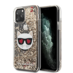 Karl Lagerfeld iPhone 11 Pro Max Or Back cover coque - KLHCN65LCGLGO