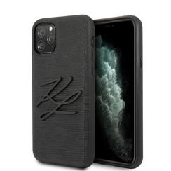 Karl Lagerfeld iPhone 11 Pro Max Noir Back cover coque - KLHCN65TJKBK