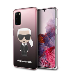 Karl Lagerfeld Samsung Galaxy S20 Black Back cover case - KLHCS62TRDFKBK