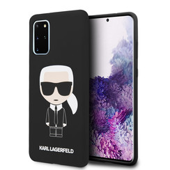 Karl Lagerfeld Samsung Galaxy S20 Plus Black Back cover case - KLHCS67SLFKBK