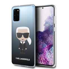 Karl Lagerfeld Samsung Galaxy S20 Plus Black Back cover case - KLHCS67TRDFKBK