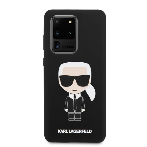 Karl Lagerfeld Karl Lagerfeld Samsung Galaxy S20 Ultra Black Back cover case - KLHCS69SLFKBK