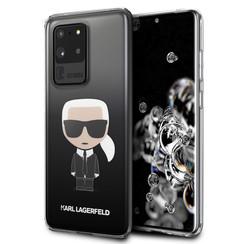 Samsung Galaxy S20 Ultra Zwart Backcover hoesje - KLHCS69TRDFKBK