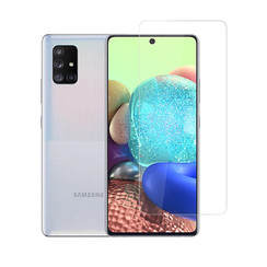 Samsung Galaxy A71 Transparant Screenprotector - Krasbestendig