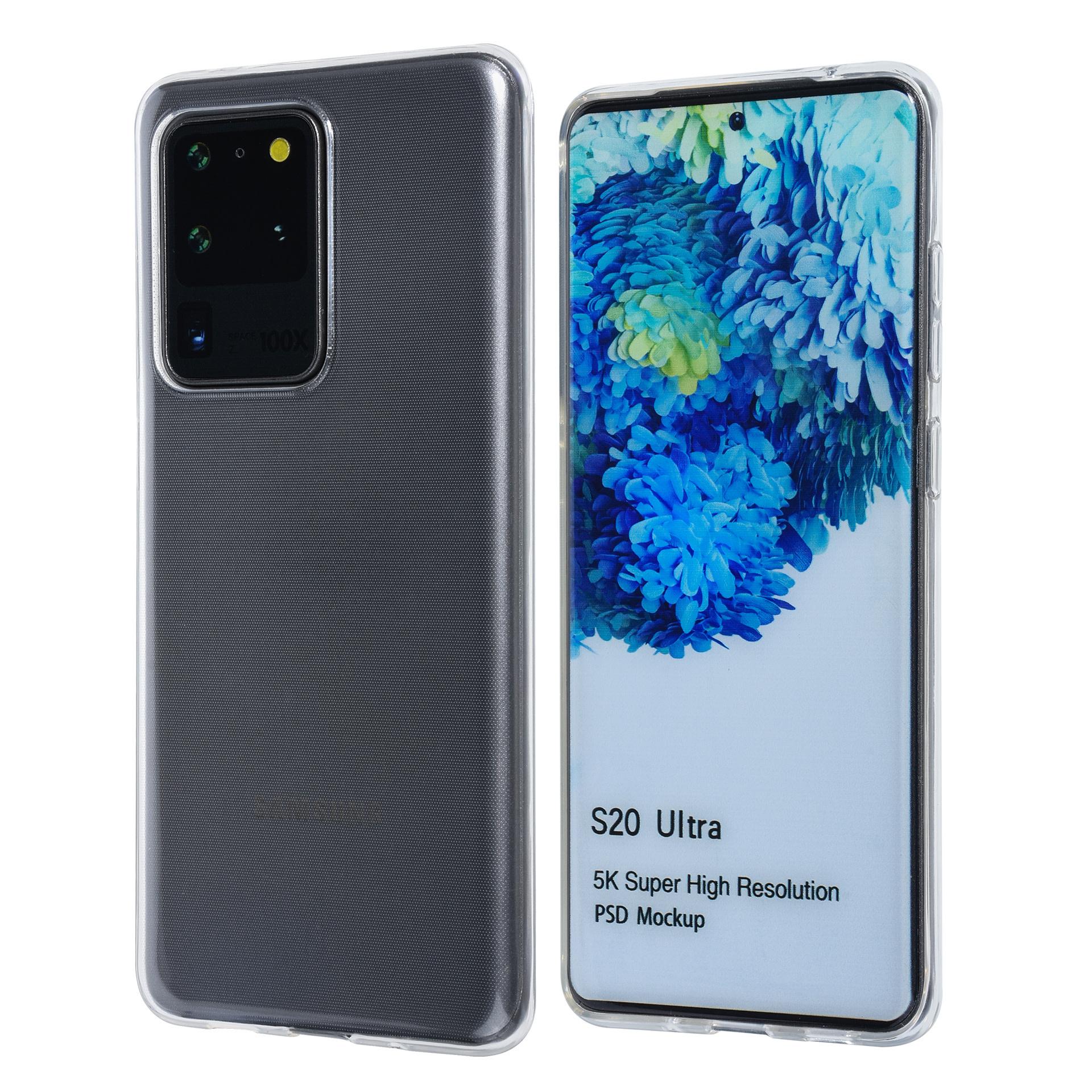 Samsung Galaxy S20 Ultra Transparent Back-Cover hul - Sanfte Berührung