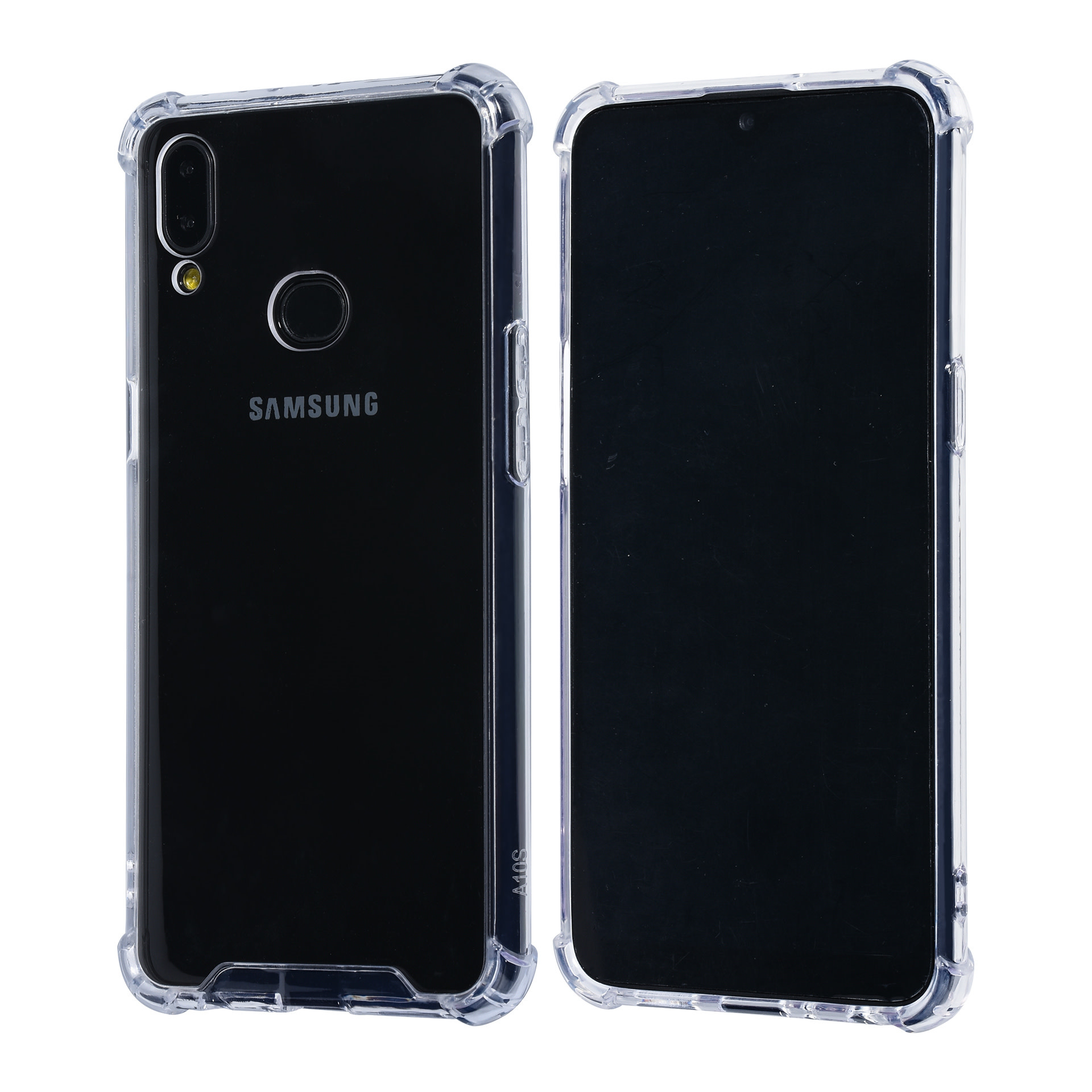 Samsung Galaxy A10s Transparent Back-Cover hul - Anti-Shock