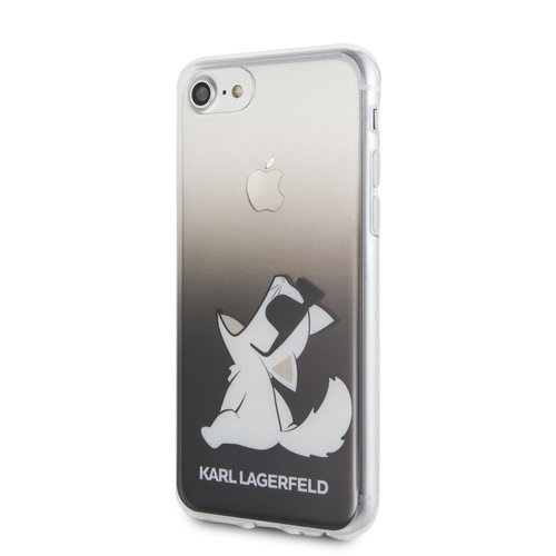 Karl Lagerfeld Karl Lagerfeld Apple iPhone SE2 (2020) & iPhone 8 Noir Back cover coque - Funn Lunettes Choupette