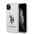 US Polo US Polo Apple iPhone 11 Pro blanc Back cover coque - Grand cheval