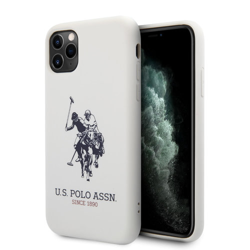 US Polo US Polo Apple iPhone 11 Pro Weiß Back-Cover hul - Großes Pferd