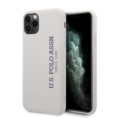 US Polo US Polo Apple iPhone 11 Pro Max blanc Back cover coque - effet Logo