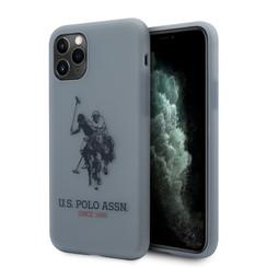 US Polo Apple iPhone 11 Pro Blau Back-Cover hul - Großes Pferd