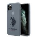 US Polo US Polo Apple iPhone 11 Pro Max Bleu Back cover coque - Grand cheval