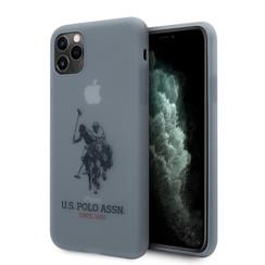US Polo Apple iPhone 11 Pro Max Blau Back-Cover hul - Großes Pferd