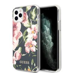 Guess Apple iPhone 11 Pro Max Marine Backcover hoesje - Bloemenpatroon