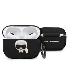 Karl Lagerfeld zwart AirPods Pro Case - Ring
