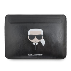 Karl Lagerfeld 13 inch universele laptop sleeve - zwart Ikonik Karl