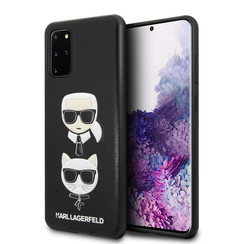 Karl Lagerfeld Samsung Galaxy S20 Plus Impression Back cover coque - Embossé en cuir