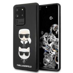 Karl Lagerfeld Samsung Galaxy S20 Ultra Afdrukken Backcover hoesje - Leer In reliëf