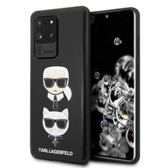 Karl Lagerfeld Samsung Galaxy S20 Ultra Impression Back cover coque - Embossé en cuir