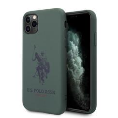 US Polo Apple iPhone 11 Pro Groen Backcover hoesje - Groot paard
