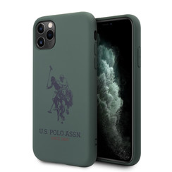 US Polo Apple iPhone 11 Pro vert Back cover coque - Grand cheval