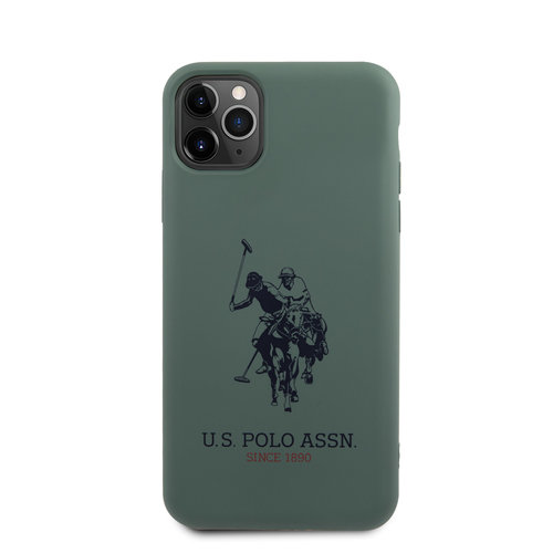 US Polo US Polo Apple iPhone 11 Pro Max vert Back cover coque - Grand cheval