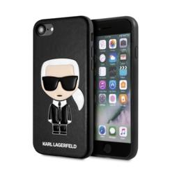 Karl Lagerfeld Apple iPhone SE2 (2020) & iPhone 8 Schwarz Back-Cover hul - Ikonik Karl