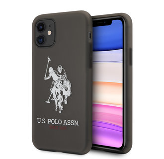 US Polo Apple iPhone 11 Black Back cover case - Horse Logo
