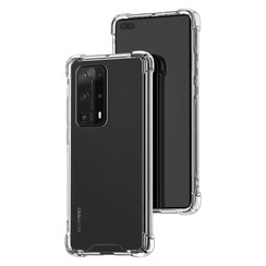 Huawei Huawei P40 Pro plus Transparent Back cover case - Silicone