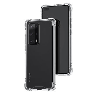 Huawei Huawei P40 Pro plus Transparant Backcover hoesje - silicone