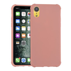 Apple iPhone X/Xs Roze Backcover hoesje - silicone