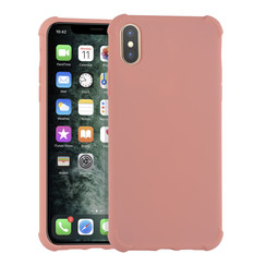 Apple iPhone XR Roze Backcover hoesje - silicone