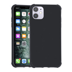 Apple iPhone 11 Pro zwart Backcover hoesje - silicone