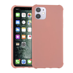 Apple iPhone 11 Pro Roze Backcover hoesje - silicone