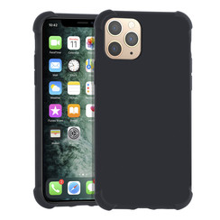 Apple iPhone 11 zwart Backcover hoesje - silicone
