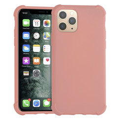 Apple iPhone 11 Roze Backcover hoesje - silicone