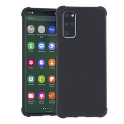 Samsung Galaxy S20 Plus zwart Backcover hoesje - silicone