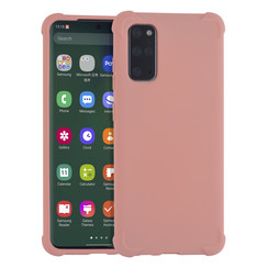 Samsung Galaxy S20 Plus Roze Backcover hoesje - silicone