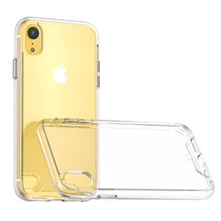 Apple iPhone X/Xs Transparant Backcover hoesje - silicone