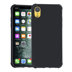 Apple iPhone X/Xs zwart Backcover hoesje - silicone
