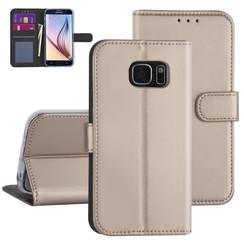 Samsung Galaxy S7 Gold Book type case - Card holder