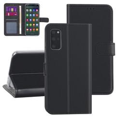 Samsung Galaxy S20 Plus Black Book type case - Card holder